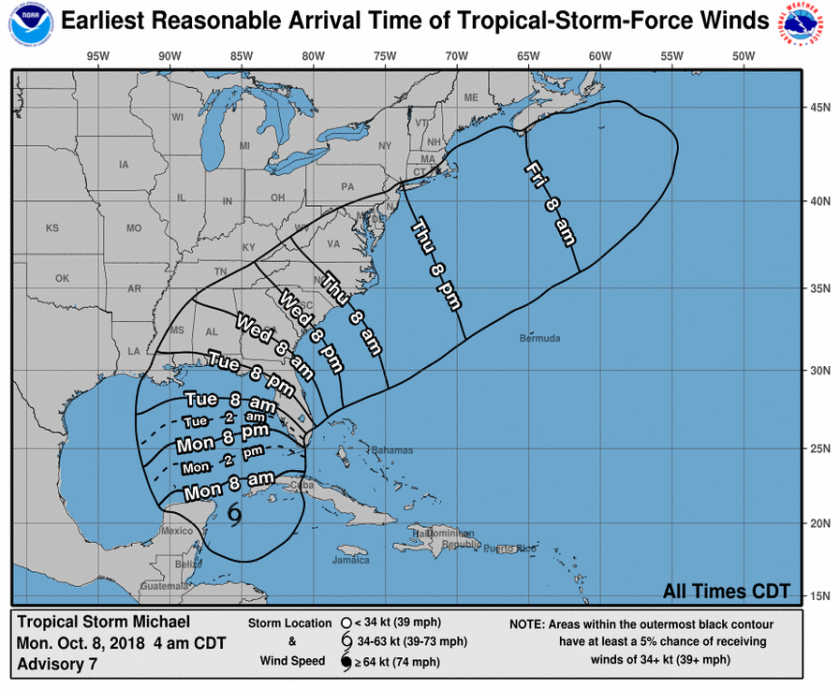 Tropical Storm Watch in Effect for South Alabama – Alabama ...